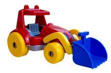 Free Toy Excavator Stock Photography - 6187932