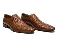 Free Brown Low Shoes Stock Image - 6189111
