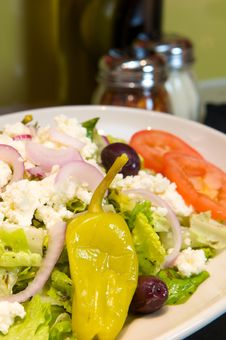 Free Fresh Greek Salad Royalty Free Stock Photography - 6189597