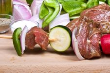 Free Meat Stick Royalty Free Stock Photography - 6189687