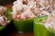 Free Stuffed Peppers Royalty Free Stock Photo - 6189765