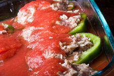 Free Stuffed Peppers Stock Photo - 6189810
