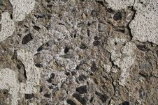 Chipped Concrete Texture Stock Image