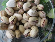 Free Pistachios In The Vase Stock Image - 6189981