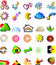 Free Set Vector Logo Elements Stock Image - 6183211