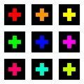 Free Colored Crosses Stock Photo - 6192210