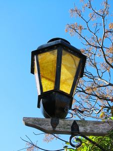 Free Colonial Lamp 2 Royalty Free Stock Photos - 6190118