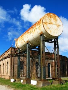 Free Old Tank 2 Stock Photography - 6190712