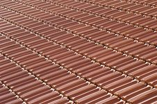 Free Tiled Roof Detail Royalty Free Stock Photo - 6190725
