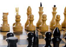 Free Close-up Chess Beginning Stock Photo - 6190900