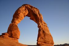 Free Delicate Arch Royalty Free Stock Photography - 6191187