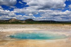 Free Midway Geyser Basin In Yellowstone Royalty Free Stock Photo - 6191215