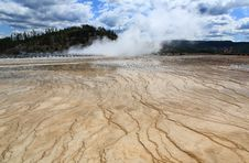 Free Midway Geyser Basin In Yellowstone Royalty Free Stock Image - 6191216