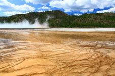 Free Midway Geyser Basin In Yellowstone Royalty Free Stock Photos - 6191228
