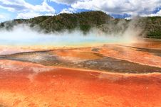 Free Midway Geyser Basin In Yellowstone Stock Photo - 6191250