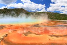 Free Midway Geyser Basin In Yellowstone Stock Photos - 6191253