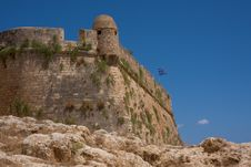 Ancient Fortress. Greece Stock Photography