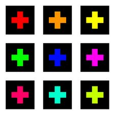 Free Colored Crosses Stock Photo - 6192210