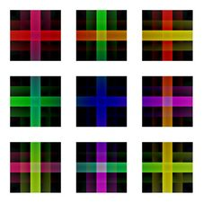Free Multicolored Crosses Stock Photography - 6192262