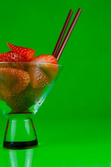 Free Strawberry Cocktails Royalty Free Stock Images - 6192489