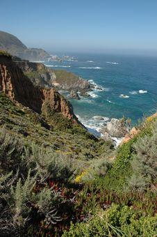 Free California Coastline Royalty Free Stock Image - 6192606