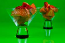 Free Strawberry Cocktails Royalty Free Stock Photos - 6192618