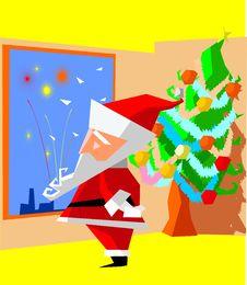 Free Santa Stock Image - 6192741