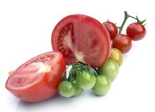 Free Tomatoes Royalty Free Stock Photography - 6193567