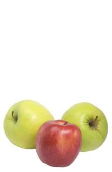 Free Mixed Apples With Copy-paste Space Royalty Free Stock Photography - 6193807