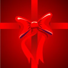 Free Red Bow Stock Images - 6194024