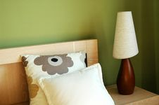 Free Pastel Bedside Stock Image - 6194431
