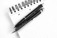 Free Black Ballpoint Pen Stock Photo - 6194520