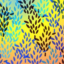 Free Pattern With Wheat Royalty Free Stock Image - 6194546