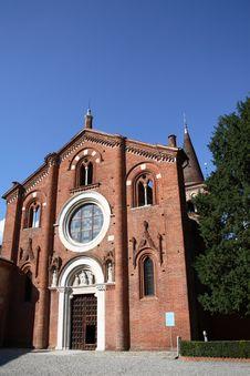 Free Façade Of The Church Stock Image - 6194821