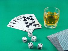 Free Ace Card Poker Gambling Royalty Free Stock Images - 6195409