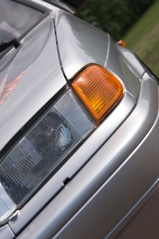 Free Front Of Car Royalty Free Stock Photography - 6195947