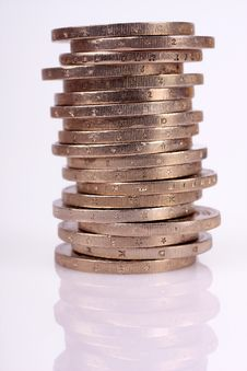Free Amount Of Coins Stock Photo - 6196010