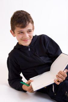 Free School Boy Stock Photo - 6196070