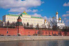 Free Kremlin Palace And Churches Stock Photography - 6197512