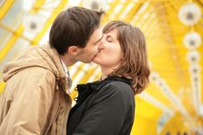 Free Kissing Couple Stock Photo - 6197610