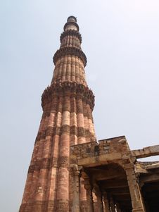 Free India, Delhi: Qutab Minar Royalty Free Stock Image - 6197766