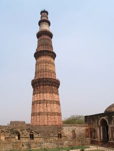 Free India, Delhi: Qutab Minar Stock Photos - 6197783
