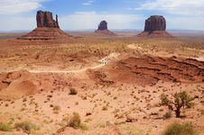 Free Monument Valley Stock Images - 6198124