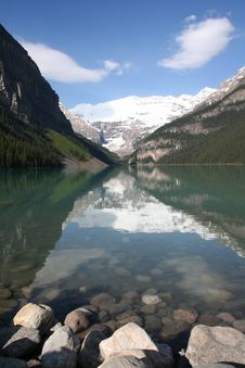 Free Lake Louise Royalty Free Stock Photos - 6198668