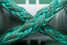 Free Green Rope Stock Photo - 6199200