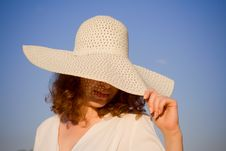 Free Girl Dressed In Hat Stock Image - 6199201