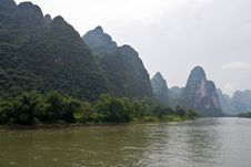 Free Yangshuo Li River, Guilin Stock Photos - 6199283