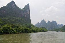 Free Yangshuo Li River, Guilin Stock Photos - 6199293