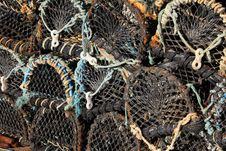 Free Lobster Pots Stock Image - 6199461