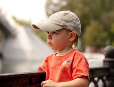 Free Little Boy Looking Forward Royalty Free Stock Photo - 6199915